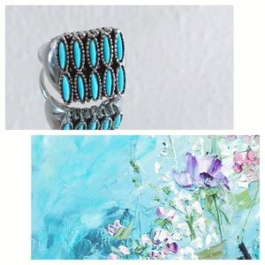 Jewelry - Turquoise Silver Ring